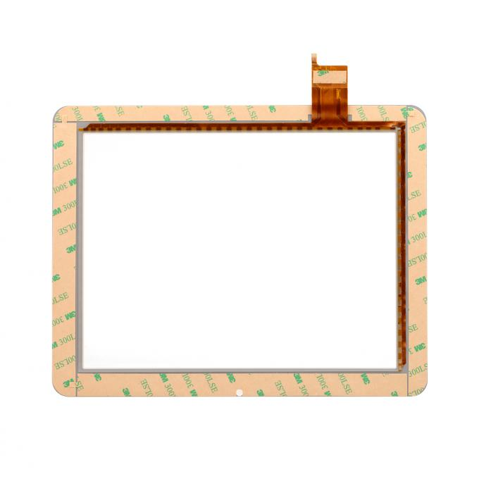 8 Inch G+FF Projected Capacitive Transparent Touch Screen Panel For Electronic Photo Frame