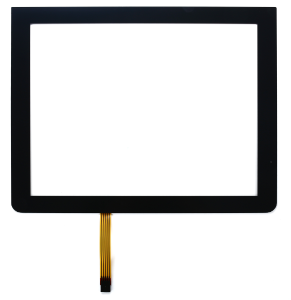 "PET Panel 15 ""  Pure Flat 5 Wire Resistive Touch Panel Screen With USB Cable"