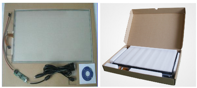 Customized 4W Resistive Touch Panel with USB Cable and Controller