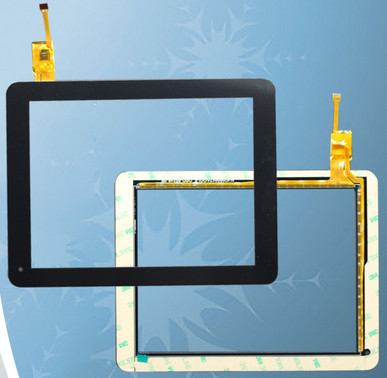 China 8 Inch G+FF Projected Capacitive Transparent Touch Screen Panel For Electronic Photo Frame supplier