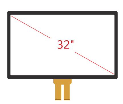 China 32 Inch Projected Capacitive Touch Panel supplier