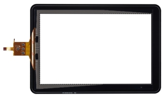 China 9.7 / 10.1 inch I2C interface Projected Capacitive Touch Panel 10-Point Touch supplier