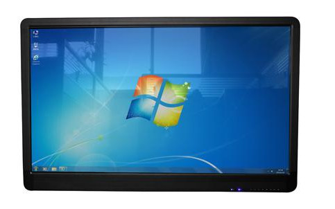 65 Inch apple style AUO Infrared Touch Smart all in one PC, 500cd/m2,