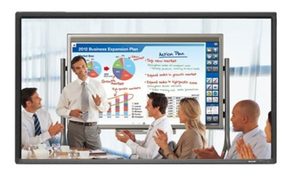 80 / 84 inch Touch Screen All In One PC for school room and meeting display