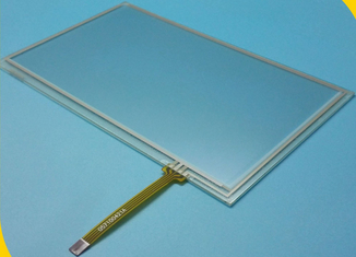 "RTP 4W 10.4"" 10.5"" 10.6"" Resistive Transparent Touch Screen Panel For Computer , Waterproof"