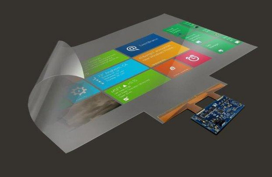 "130"" Nano PET Touch Screen Foil under glass Can Integrated to Touching System"