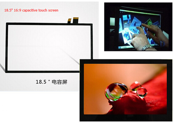China Projected Capacitive Touch Screen G + G Or G + F / F With The USB / I2C Interface supplier