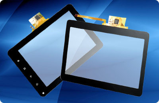 China G+FF 8 Inch Projected Capacitive Touch Panel With I2C interface , Lcd Touch Screen Panel supplier