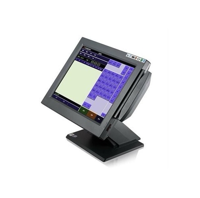 15 Inch Black Touch Panel Touch Screen POS Terminal, AC 100-240V, Intel NM10,MAX TDP 2.1W