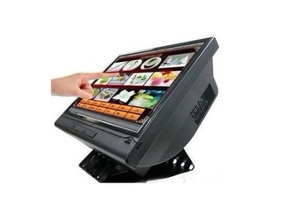 17 Inch Smart Touch Screen POS Terminal, All in One PC with 4W / 5W Resistive Touch Panel
