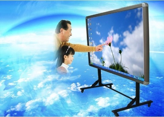 Ultra Interactive Finger / Infrared Touch Smart Interactive Whiteboard, Gesture Control
